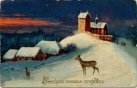 Aicina dāvināt senas Ziemassvētku un Jaunā gada apsveikuma kartiņas