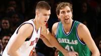 """Porziņģa 28 punkti un fantastiskas pēdējās minūtes neglābj """"Knicks"""" no zaudējuma """"Mavericks"""""""