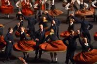 Īpaši deju raksti un soļi Olimpiskā centra arēnā
