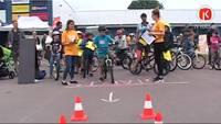 """Aizvadītas riteņbraukšanas sacensības """"Bērnu rallijs 2016"""""""