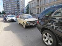 """Papildināts – """"Žigulis"""" taranē """"BMW X5"""""""
