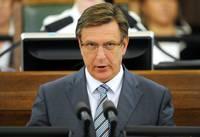 """Kučinskim nav bažu, ka Latvijai būs jāmaksā """"KVVLiepājas metalurgs"""""""