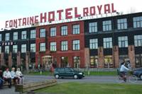 "Pārdota viesnīcas ""Fontaine Royal Hotel"" ēka"