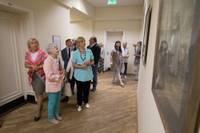 Ar Dzintras Vīriņas darbiem atklāj Liepājas Universitātes mākslas gaiteni