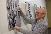 """Biedrības namā apskatāma izstāde """"Olafa Gūtmaņa fotoportreti"""""""