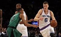 """Porziņģis gūst 24 punktus; """"Knicks"""" otrajā pagarinājumā zaudē """"Bulls"""" komandai"""