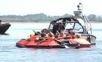 Mācības lidmašīnas avārijas seku likvidēšanā Liepājas ezerā vērtē kā izdevušās