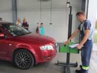 Papildināts – Bezmaksas diagnostiku veic 200 auto; tikai ceturtdaļa derīga satiksmei
