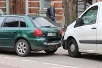 Papildināts (9.45) – Raiņa ielā saduras četras automašīnas