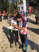 Orientēšanās čempionātā uzvar Edgars Bērziņš un Laura Vīķe