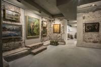 """Galerijā """"Romas dārzs"""" – vērienīga liepājnieku mākslas darbu kolekcijas ekspozīcija"""