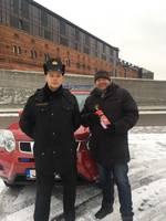Liepājnieki konkursā demonstrē zināšanas par ugunsdrošību automašīnā