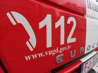Vakar ugunsgrēkā Liepājā izglābts cilvēks