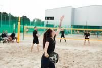 Aizvada pludmales tenisa turnīra otro posmu
