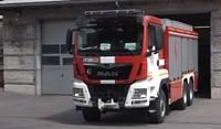 Viens no ugunsdzēsēju depo – kritiskā stāvoklī