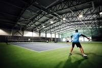 Pēc tenisa halles uzbūvēšanasLiepājāstrauji pieaudzis jauno tenisistu skaits