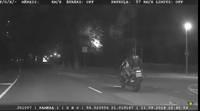 Grobiņā noķerts motociklists reibumā un bez tiesībām, kurš bēga ar ātrumu 216 km/h