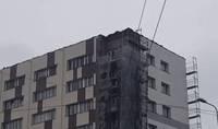 """Vētra nodara zaudējumus būvniekiem un """"Liepājas tramvajam"""""""