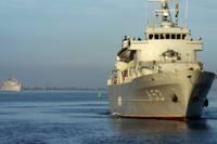 Saistībā ar gaidāmām mācībām Liepājā ieradīsies NATO 1.pastāvīgā jūras pretmīnu grupa