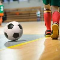 Latvijas telpu futbola čempionāta spēlē Grobiņa ar 8:1 sagrauj Nīcu