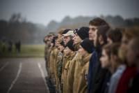 Liepājas skolas ar patriotiskiem pasākumiem pavada novembri
