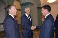 Ministru prezidents Krišjānis Kariņš neskopojas ar atzinību Liepājai