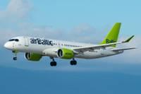 """""""AirBaltic"""" lidojumus uz Liepājā vēl neatsāks"""