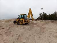 Īslaicīgi apgrūtināta pieeja pludmalei no Jūrmalas ielas puses