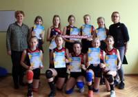 """U12 volejbolistes aizvada """"Ziemas kauss"""" sacensības"""