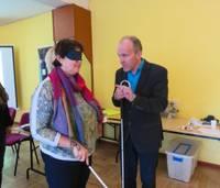 Liepājas Neredzīgo biedrība uzsākusi projektu sociālās integrācijas veicināšanai