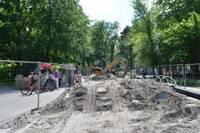Jūrmalas parkā teritorijā ierīko lietus ūdens kanalizāciju