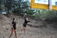 Pludmalē norisinājās Liepājas pludmales volejbola līgas 3.posms