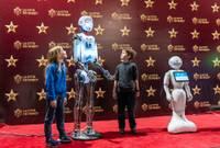 Liepājas Olimpiskajā centrā apmeklētājiem atvērta starptautiska robotu izstāde