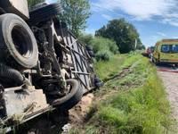 Aicina atsaukties uz Nīcas šosejas notikušā ceļu satiksmes negadījuma aculieciniekus