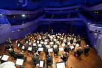 Foto atskats: Liepājas Simfoniskais orķestris atklāj 140. koncertsezonu