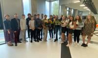 Liepājas Tenisa sporta skolu absolvē 15 jaunie tenisisti