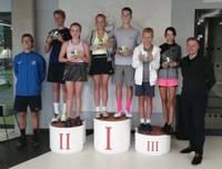 Jaunajiem tenisistiem panākumi Liepājā un Ventspilī