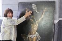 Krūtes baznīcā atgriezies Kristus pie krusta