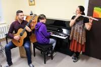 Grobiņā un Bārtā muzicē ar jauniem instrumentiem