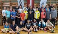 """Badmintona turnīrā """"Liepāja Junior Open 2020"""" gandrīz tikai liepājnieki"""