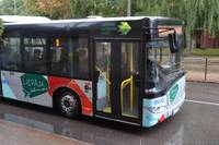 Divas sadursmes ar sabiedrisko transportu