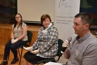 """Biedrības """"Ziemupīte"""" un """"Kurzemes NVO centrs"""" Vērgalē sarīkoja diskusiju """"Aktīva sabiedrība"""" ar Sandru Veinbergu"""