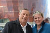 Liepājas populārākie jaunlaulātie Linda Mūrniece un  Agris Freibergs vairs nav kopā