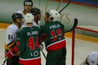 """Slimība iekļuvusi hokeja virslīgas līdervienībā """"Olimp/Venta 2002"""""""