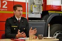 Oļģerts Smalkais: Tikai katrā ceturtajā mājoklī, kur notika ugunsgrēks, bija uzstādīts detektors