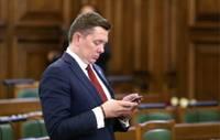 Saeimas komisija atbalsta lēmumprojektu par Kaimiņa izdošanu kriminālvajāšanai