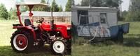 Grobiņas pagastā nozog traktoru; lūdz atsaukties aculieciniekus
