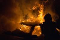 Šonakt Vaiņodes novadā izcēlies paaugstinātas bīstamības ugunsgrēks