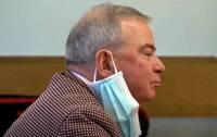 Pirmās instances tiesa Lembergam piespriež piecu gadu cietumsodu un apcietina tiesas zālē