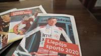 """Lasīšanai pieejams sporta apskata žurnāls """"Liepāja Sporto 2020"""""""